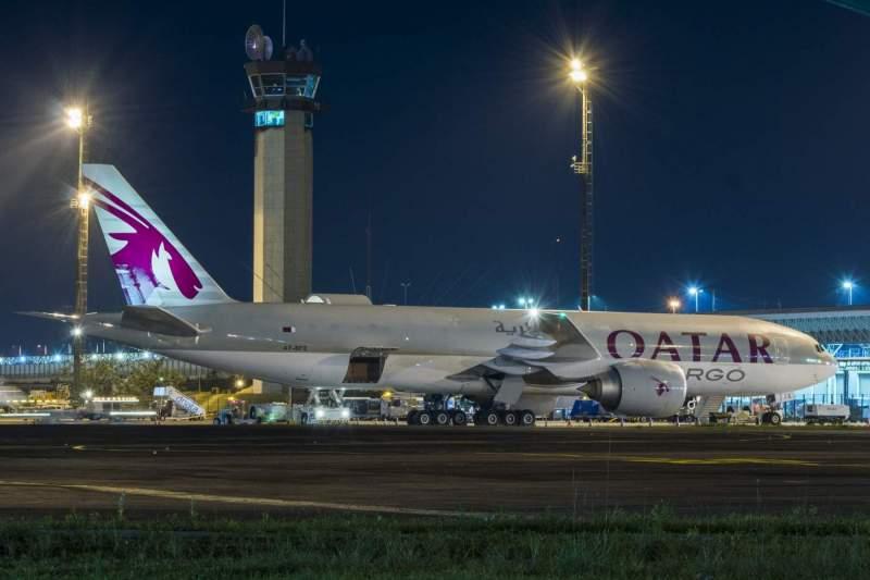 Boeing 777F Qatar Cargo