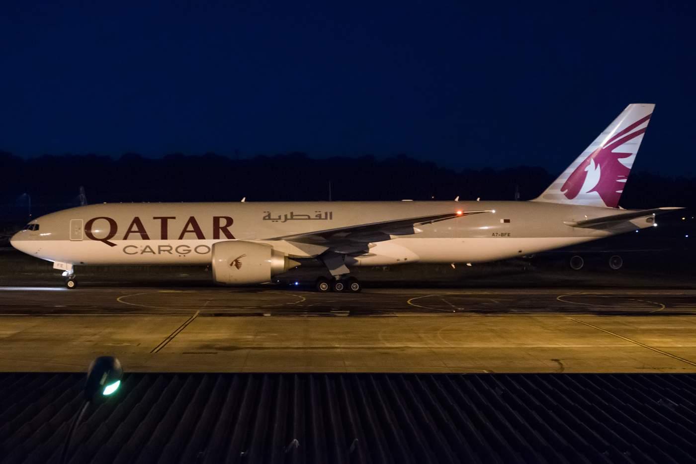 Boeing 777 Qatar Airways Manaus