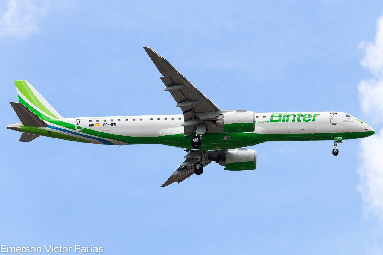 Embraer 195-E2 Binter