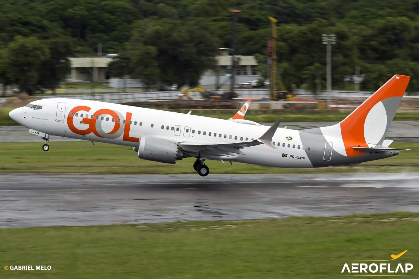 Boeing 737 MAX GOL PR-XMF