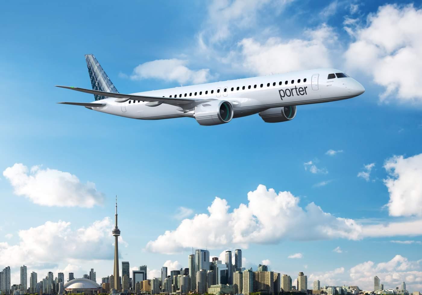 Porter Airlines Embraer 195-E2