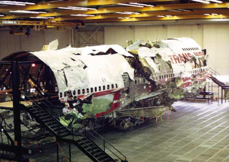 TWA 800 Boeing 747