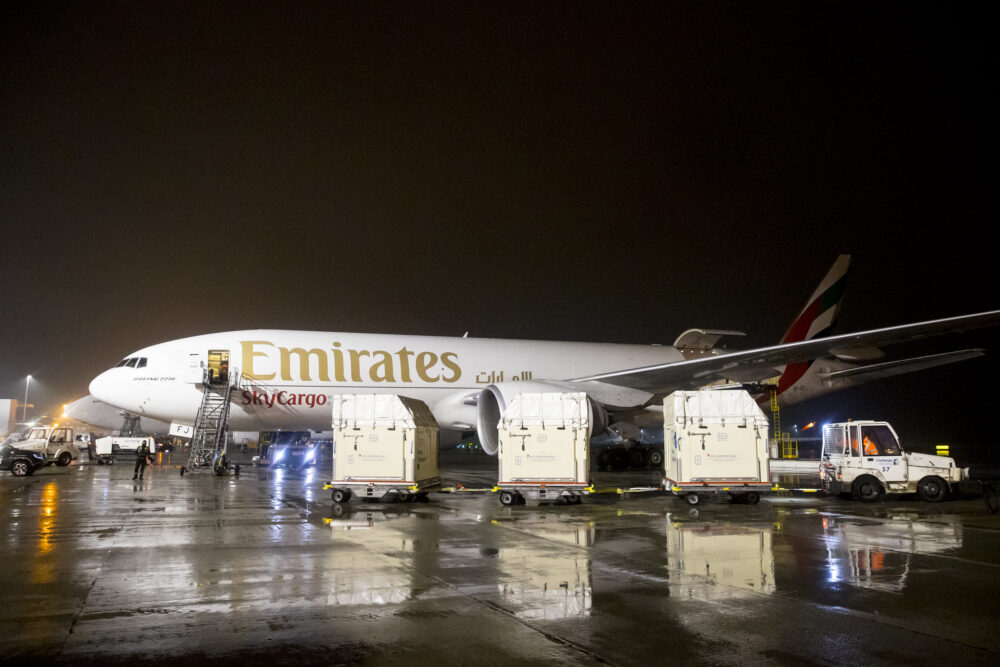 Emirates Sky Cargo Jogos Olpimpicos Tóquio