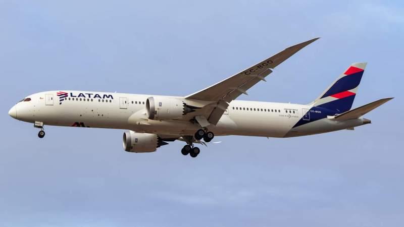 LATAM Brasil Boeing 787